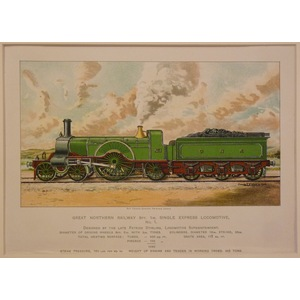 Great northern railway 8ft 1in single express locomotive