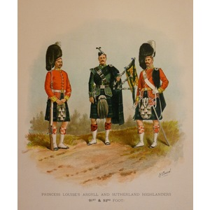 Princess louises argyll and sutherland highlanders (91st & 93rd foot)