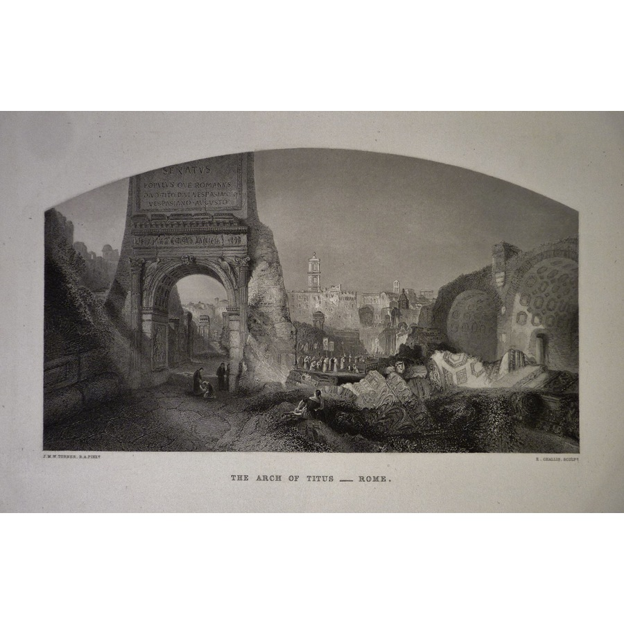 The arch of titus - rome | Storey's