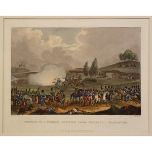 Defeat of a french division before badajos - march 25th 1811