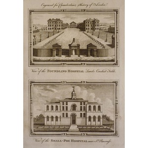 View of the foundling hospital, lambs conduit fields