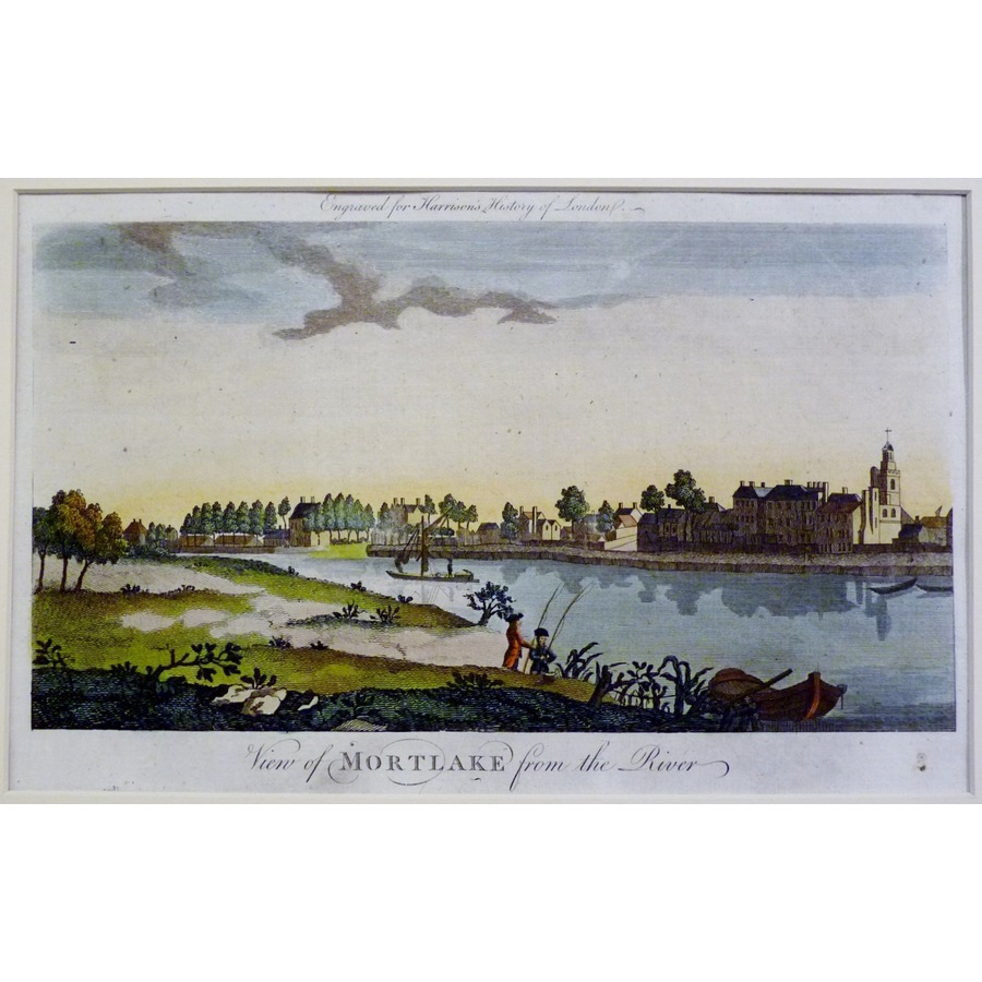 View of mortlake from the riv. | Storey's