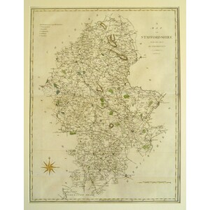 A map of staffordshire