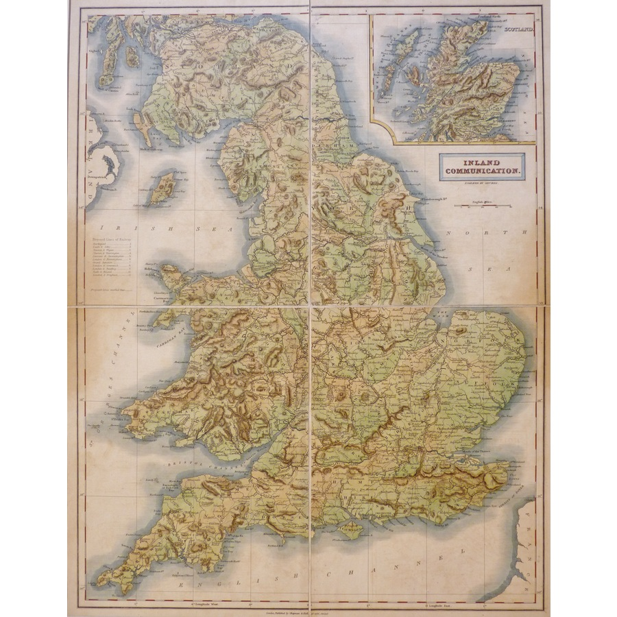 England and Wales - Inland Co.   Storey's