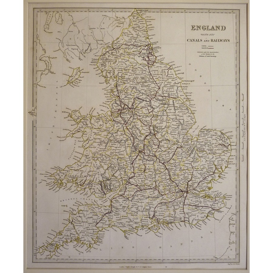 England with its canals and r. | Storey's