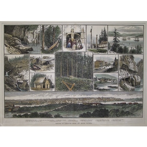 Sketches of vancouver island and british columbia