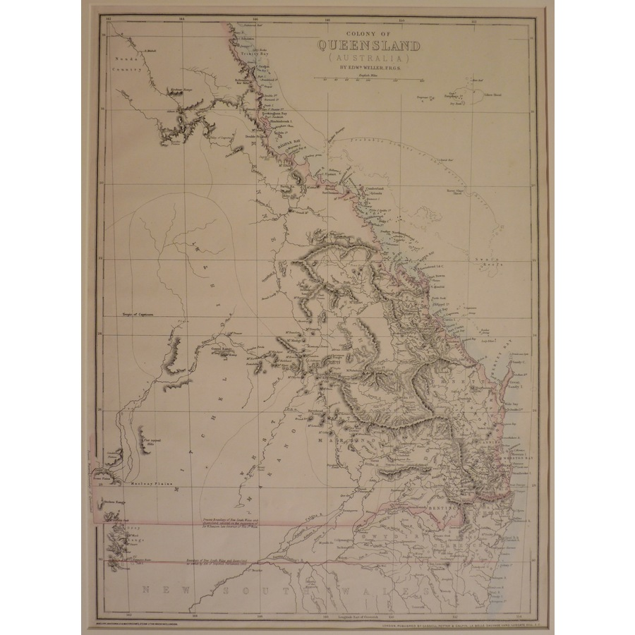 Colony of queensland, austral. | Storey's