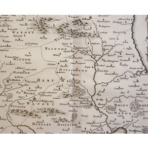 The East Riding Of Yorkshire By Robert Morden, Published 1695