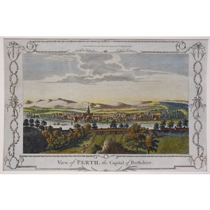View of perth, the capital of perthshire