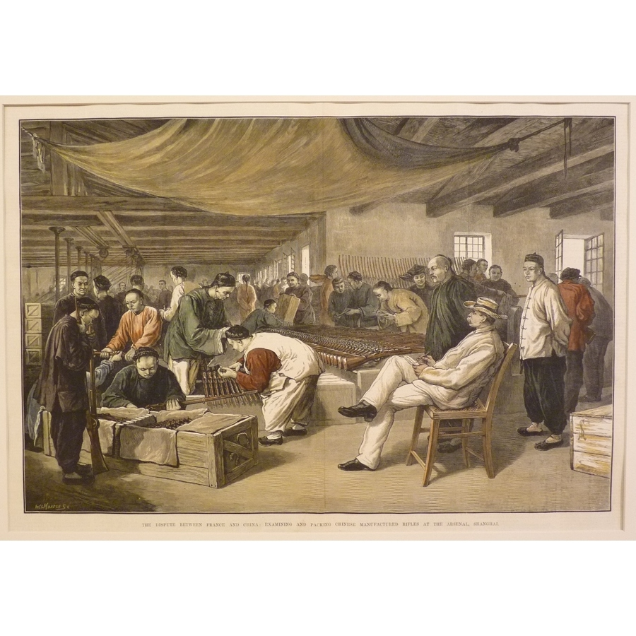 The dispute between france an.   Storey's