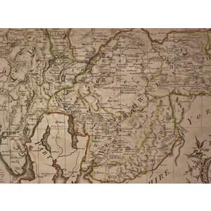 An accurate map of the counties of cumberland and westmoreland - bowen, 1780