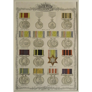 Military & naval medals - 1837-1887 (2)