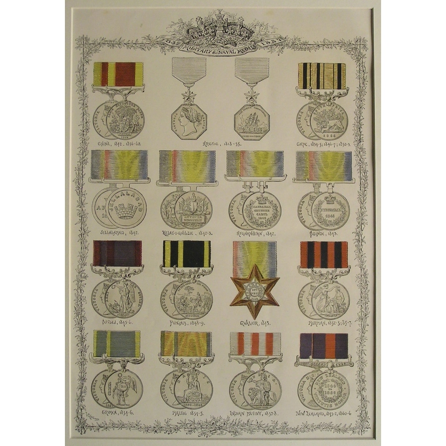 Military & naval medals - 183.   Storey's