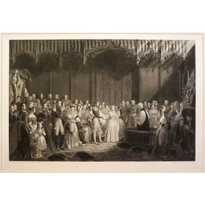 The marriage of her most gracious queen victoria to h.R.H. The prince albert of saxe-coburg and g...