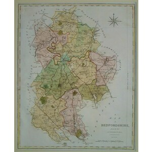 Bedfordshire - j. Cary - 1797