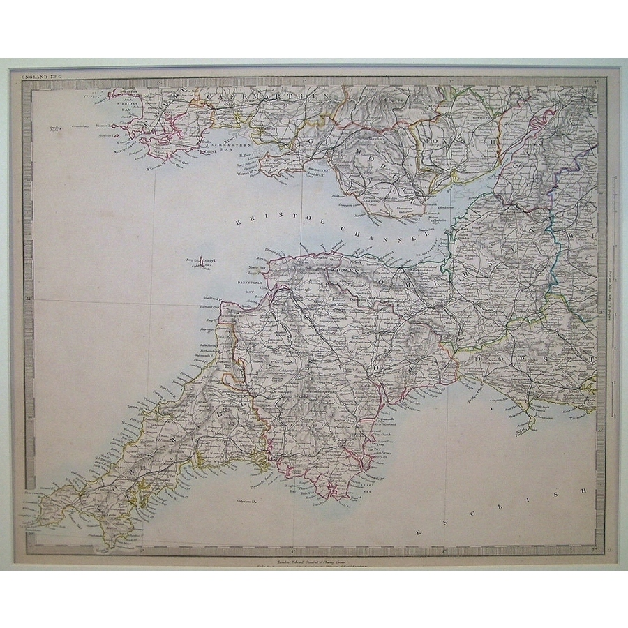 England - south west - sheet 6 | Storey's