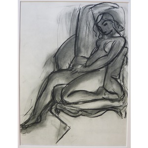 Matisse , Henri - Seated Nude. An Original Heliogravure Published By Teriade In 1958 For Verve Ma...