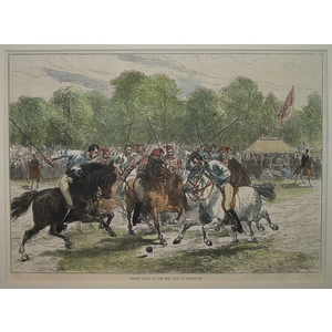 Opening match of the polo club at hurlingham