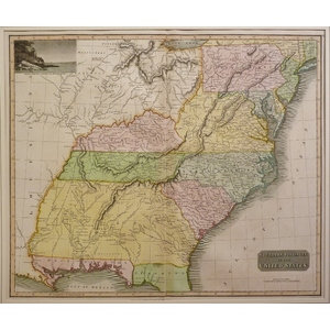 Southern provinces of the united states - thomson - 1817