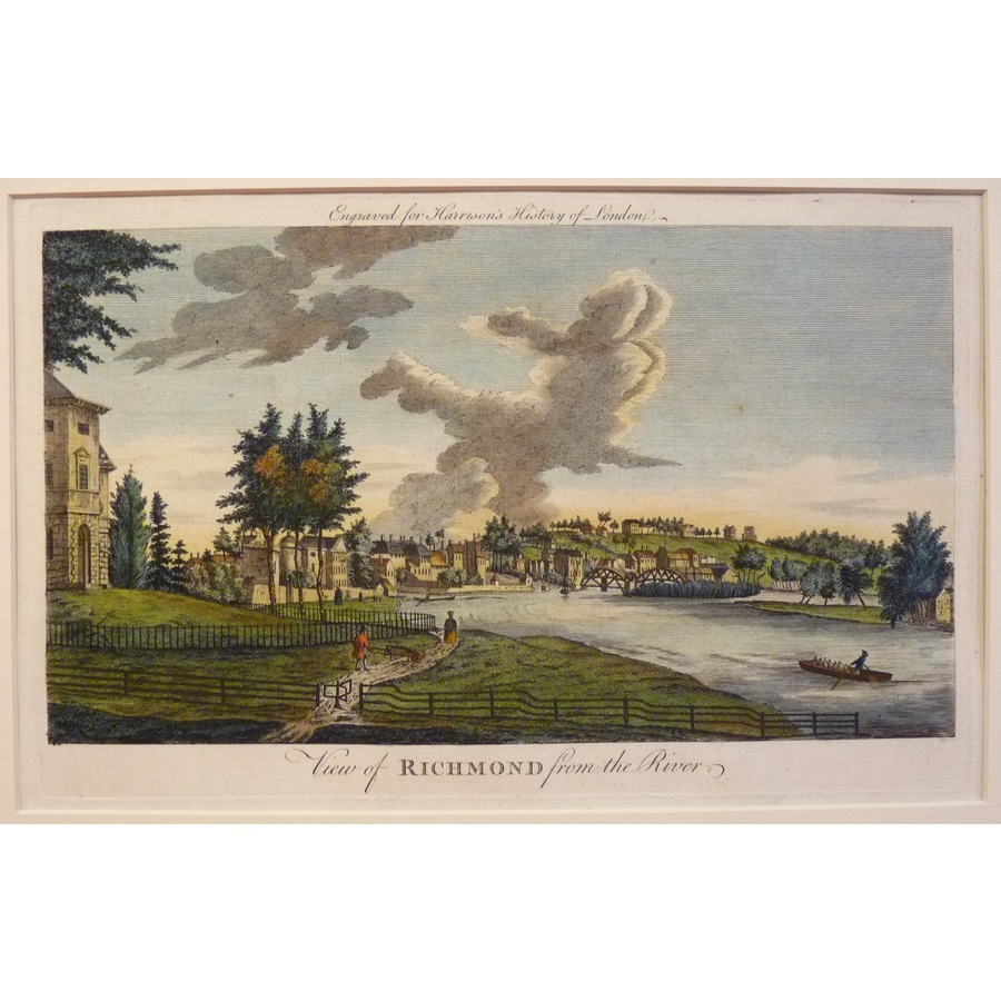 View of richmond from the riv. | Storey's