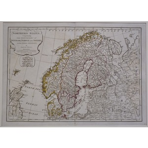 The northern states comprehending the kingdoms of denmark, norway and sweden
