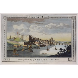 A view of the city of chester in cheshire