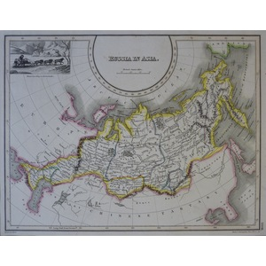 Russia in Asia - J. Wyld, 1827