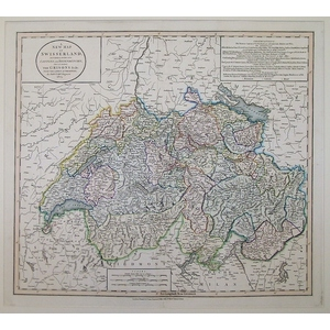 A new map of switzerland