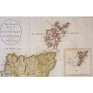 A New and Correct Map of Scot. | Storey's