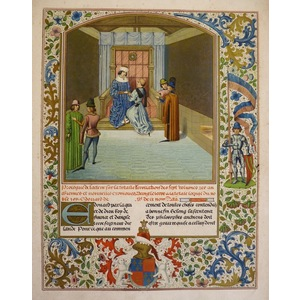 Recollation of the chronicles of england, written for edward iv - 15th century