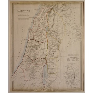 Palestine in the time of our saviour - sduk 1843