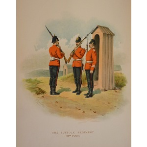The suffolk regiment (12th foot)