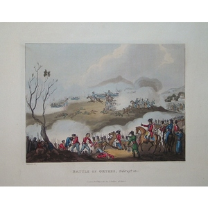 Battle of orthes - february 27th, 1814