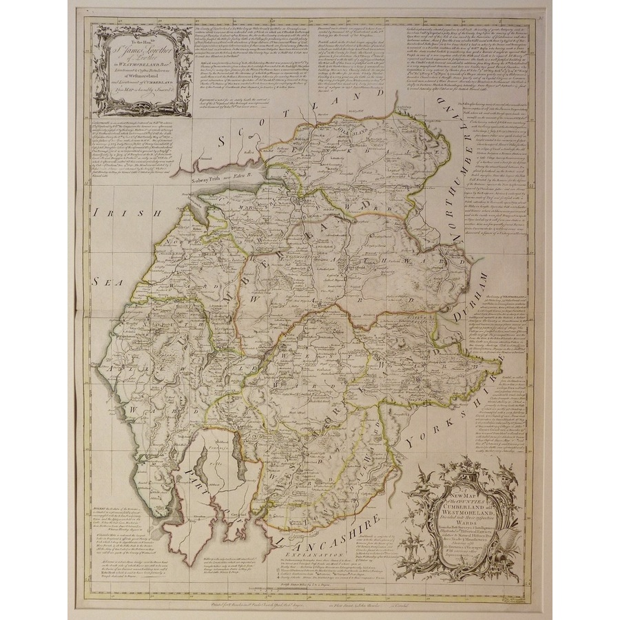 A new map of the counties of . | Storey's
