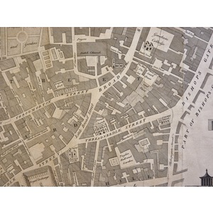 William Maitland (1693–1757) - Cornhill Ward, Divided into its Parishes according to a new Survey...