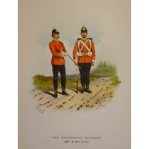 The dorsetshire regiment (39th & 54th foot)