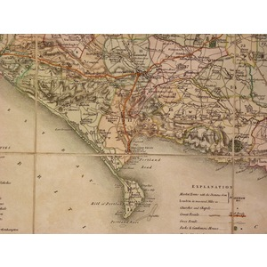 A new map of the county of do. | Storey's