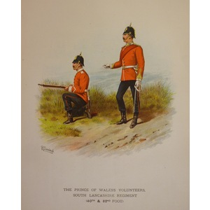 The prince of waless volunteers, south lancashire regiment (40th & 82nd foot)