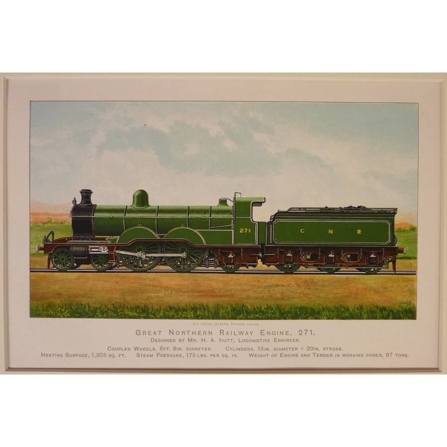 Great northern railway engine. | Storey's