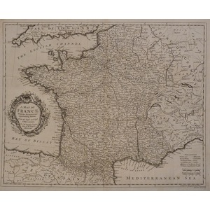 A map of france with the dominions