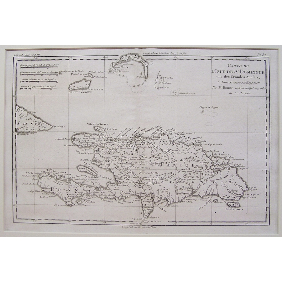 Carte de l isle de st. Doming. | Storey's