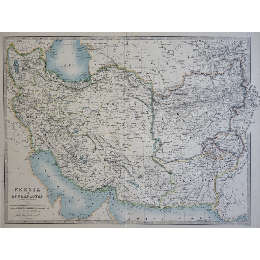 Persia and Afghanistan - Orig. | Storey's
