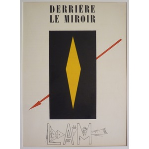 Cover for derriere le miroir - wilfredo lam