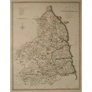 A map of northumberland