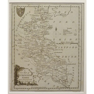 A new map of buckinghamshire