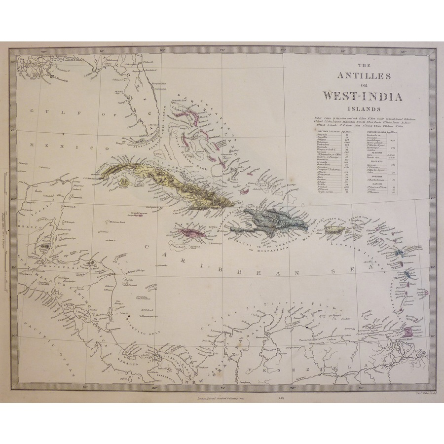 The Antilles or West India Is.   Storey's