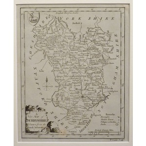 A new map of derbyshire