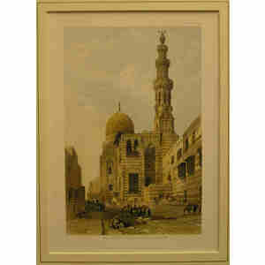 Mosque of the sultan kaitbey, cairo