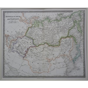 Russia in asia and tartary - 1842