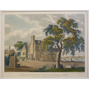 View of the feathers tavern, cupers-bridge lambeth